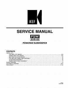 Kef Psw2010 Sm Service Manual Download  Schematics  Eeprom  Repair Info For Electronics Experts