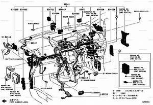 Wiring  U0026 Clamp For Toyota Noah Zrr70w