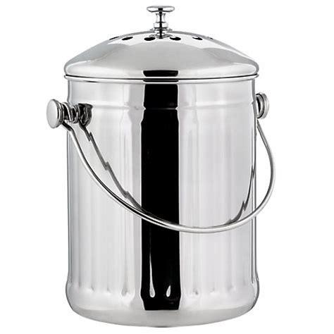 composteur de cuisine ecovi bioseau inox 3l ecovi