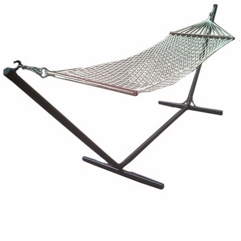 redstone garden hammock and stand lounger swing chair ebay