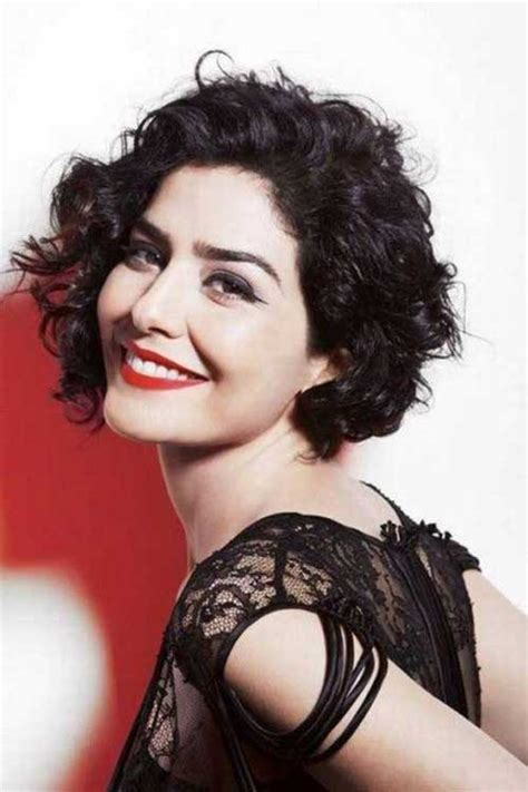 chic curly short hairstyles short hairstyles
