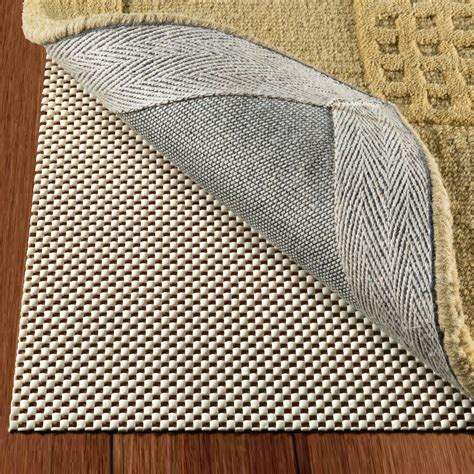 non slip rug pad non slip area rug pad size 5 x 8 strong grip thick