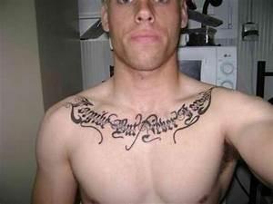 Chest Tattoos For Men Quotes. QuotesGram