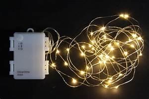 Led Lichterkette Mit Batterie : led micro lichterkette outdoor batteriebetrieben 40 led ~ Watch28wear.com Haus und Dekorationen