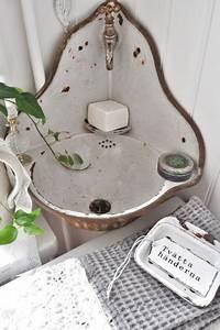 Lave Main Retro : lave mains ancien d 39 angle en m tal maill salle de bain ~ Edinachiropracticcenter.com Idées de Décoration