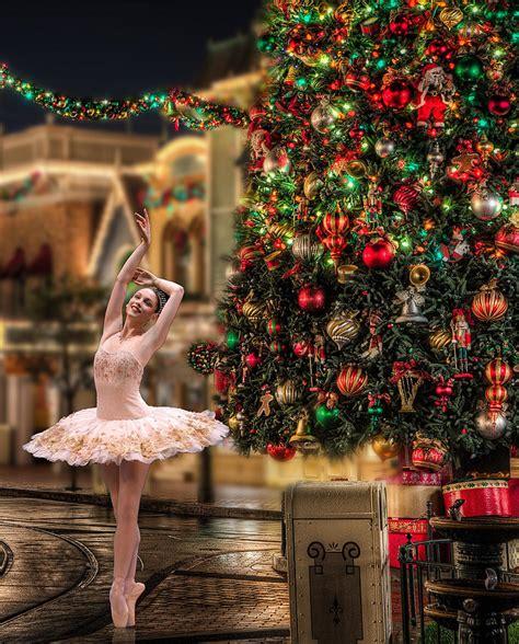 christmas ballerina photograph  dina raouf