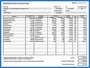 Vordruck Für Nebenkostenabrechnung : nebenkostenabrechnung muster ~ Michelbontemps.com Haus und Dekorationen
