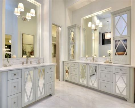 Mirrored Cabinet Doors Ideas, Pictures, Remodel And Decor
