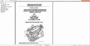 Yanmar Diesel Engine 4tnv84t