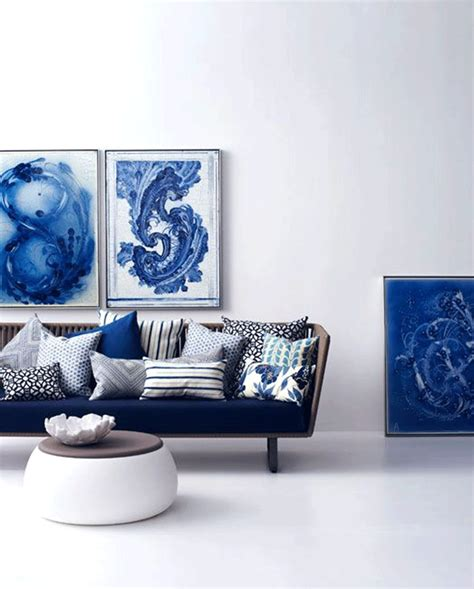 Living Room With Blue Decor by Blue Sofas That Will Refresh Your Living Room Decor