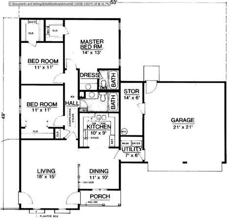 autocad floor plan niente
