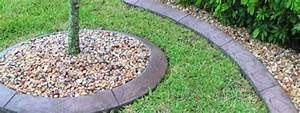 Landscape, Edging, Around, Your, Garden, Or, Flower, Bed, With, Concrete
