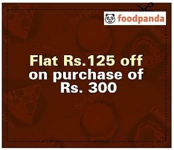 Food Panda Voucher Foodpanda Voucher Worth Rs 125 For Rs 10 New Users