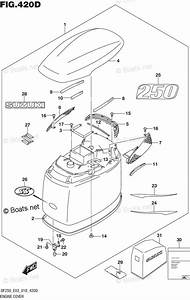 Suzuki Outboard Parts By Model Df 250 Oem Parts Diagram