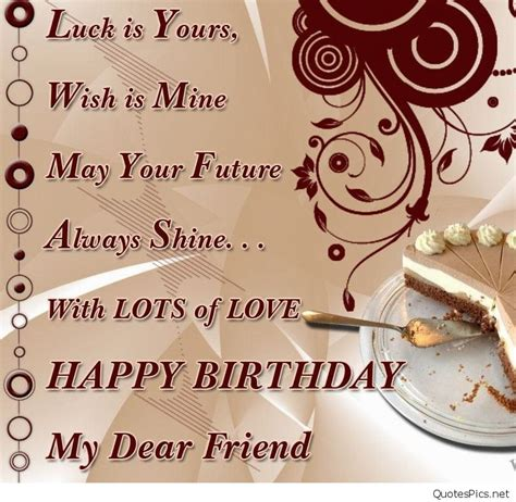 Best Wishes To A Friend Best Happy Birthday Card Wishes Friend Friends Sayings