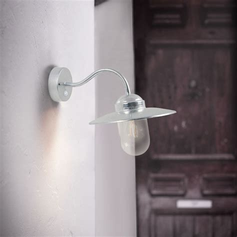 nordlux luxembourg outdoor wall light with pir sensor