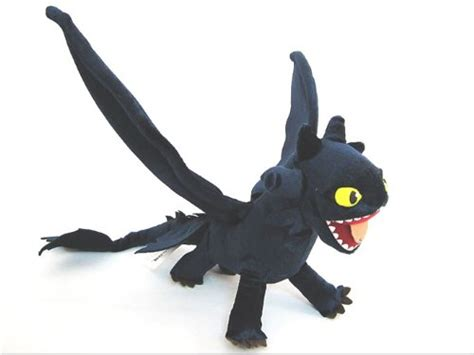 How To Train Your Dragon Deluxe Night Fury Figure 21 Inch