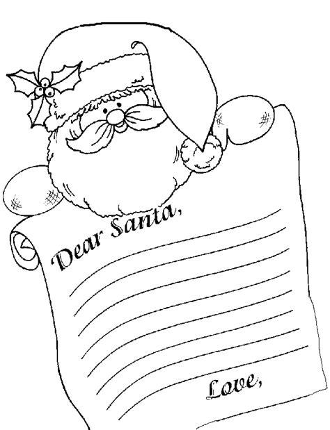 santa form letter   write  letter  santa