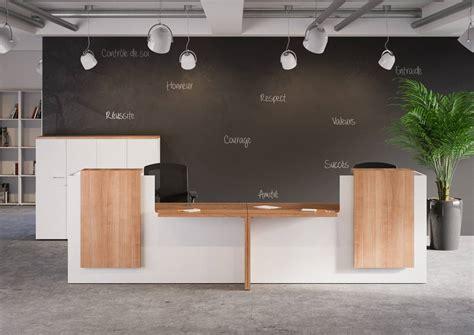 bureau d accueil mobilier de bureau banque d 39 accueil quadrifoglio