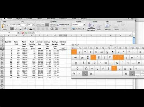 cost calculations   excel spreadsheetmp youtube