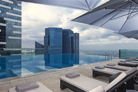 hotel rooftop pools  singapore lifestyle asia