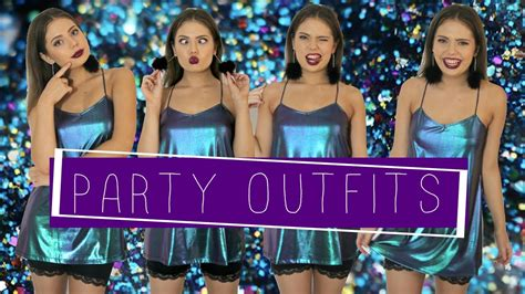 Night Out Lookbook | Party Outfit Ideas - YouTube
