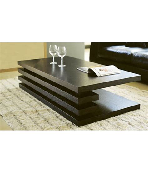 furnish living brown centre table   home