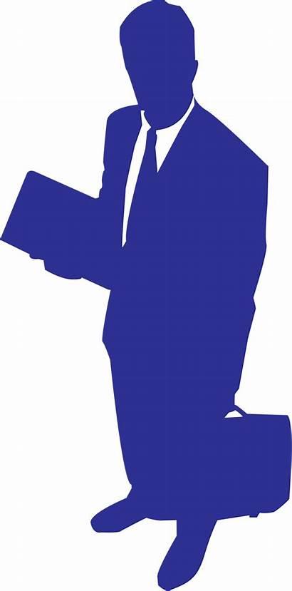 Business Silhouette Illustration