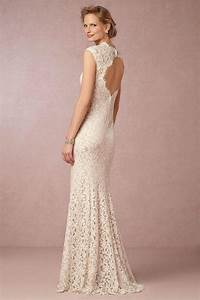 Vintage lace wedding dresses from bhldn modwedding for Lace dress for wedding