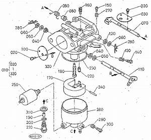 Carburetor  Section Parts  Diagram  U0026 Parts List For Model
