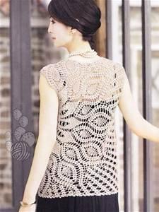 Crochet Blouse Chart Diagrams Pattern Pdf