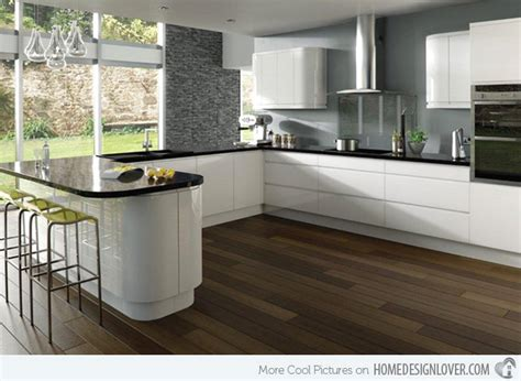 White And Simple High Gloss Kitchen Designs-fox Home