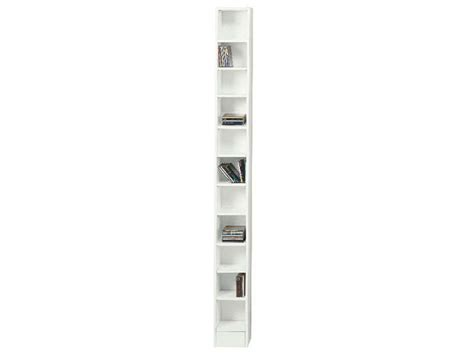 casier de bureau range cd dico coloris blanc vente de bibliothèque