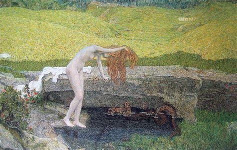 La Vanité by File Segantini Eitelkeit 1897 Jpg