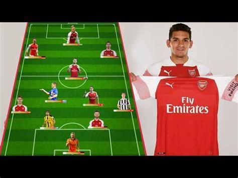 arsenal  lineup   season  ft