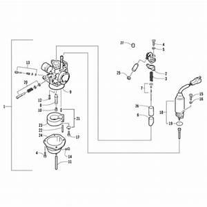 Carburetor Assembly  Arctic Cat 90 2t