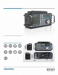 Eton Eton Corporation Radio 750 User U0026 39 S Manual