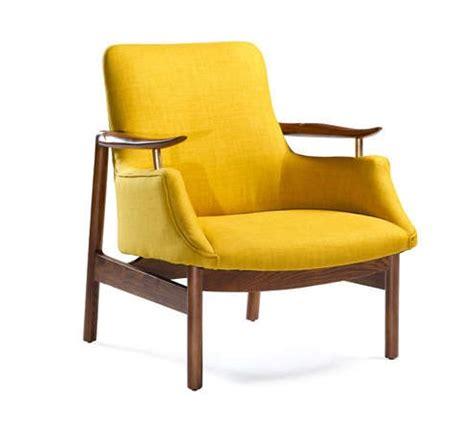 fauteuil contemporain jaune jaune tych fauteuil