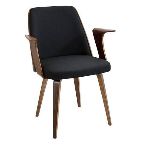 Modern Dining Chairs   Vinka Black Arm Chair   Eurway