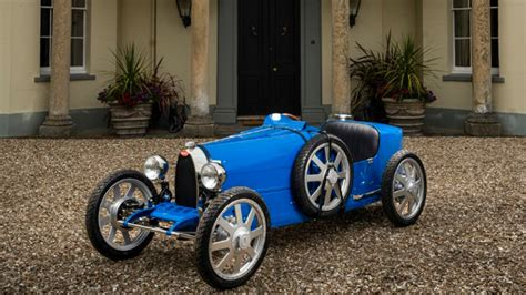 The child mode allows the car to generate 1.3 horsepower only and achieve a top speed of 20 km/h (12 mph). Bugatti Baby II Revealed at Bugatti's 110th Anniversary