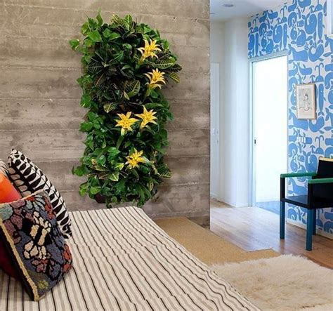 Vertical Garden Walls Bring Vibrant To A Contemporary Apartment Interior by How To Combine Indoor Plants And Create Spectacular Green