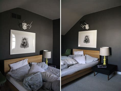 gorgeous imageries  grey wall paint ideas interior