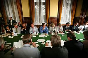 David Cameron in The Shadow Cabinet Hold Their Weekly ...
