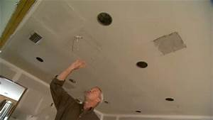 How install recessed lighting existing ceiling