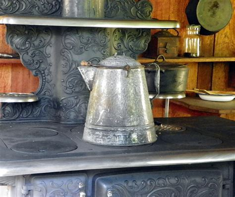 coffee pot on stove ole stove an coffee pot i photograph by sheri mcleroy