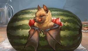 Creature Collection : Fruit Bat by ALRadeck on DeviantArt