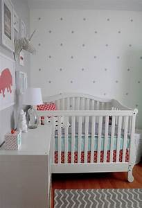 polka dot nursery gallery roundup project nursery With the best accent white polka dot wall decals