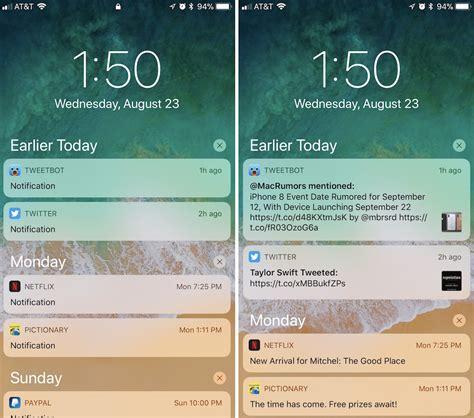 hide text previews   app notification
