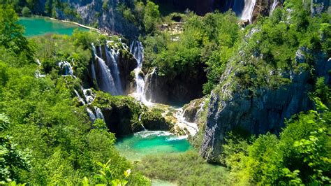 Plitvice Lakes A Natural Paradise Between The Croatian