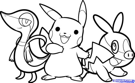 150 dibujos de Pokemon para colorear Oh Kids Page 13